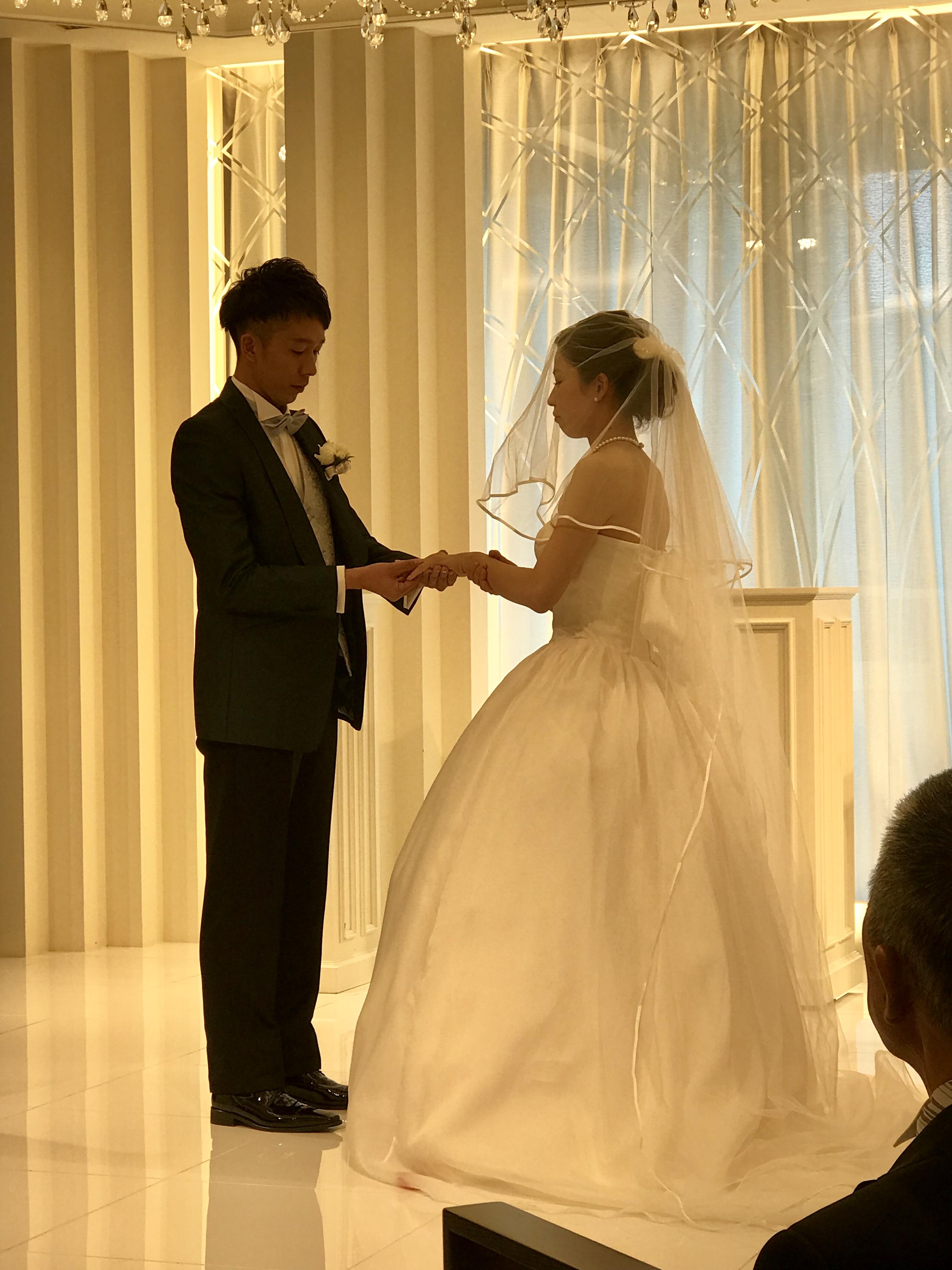 shimuraの結婚式におじゃましてきました。